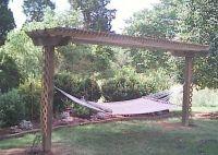 I want a hammock pergola! | Home Ideas | Pinterest ...