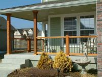 front porch railings and posts   3   Pinterest   Front ...