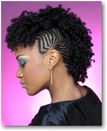 African American Wedding Hairstyles & Hairdos Natural Curly Style