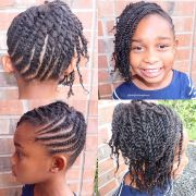 two strand twist hairstyles fade