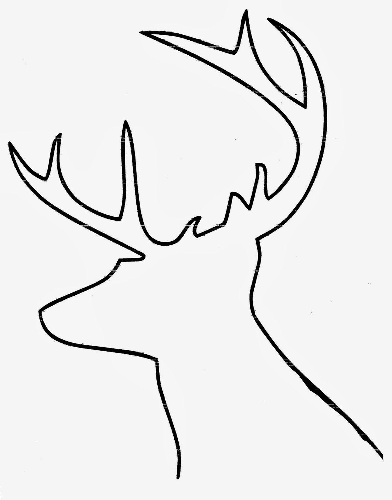 Reindeer Template003 1 253 1 600 Pixels