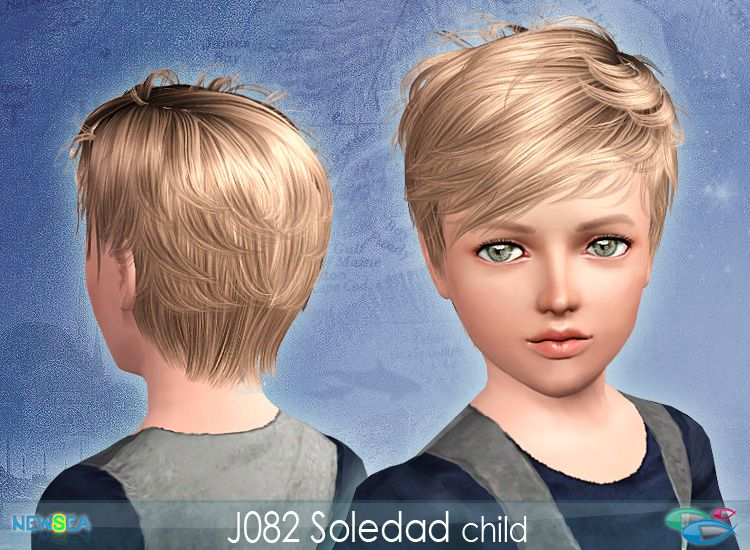 Newsea Soledad Male & Female Hair Donation Only Sims 3