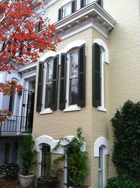 Georgetown Townhouse Love Color Scheme Working Black