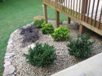 Landscaping Around Deck Stairs | Home Design Ideas ...
