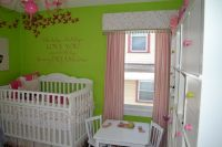 Candy Pink & Lime Green Baby Nursery by Mia'sMommy | Green ...
