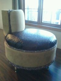 Upcycled tire chair found on https://www.facebook.com ...