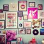 Kate Spade Gallery Wall Via The Everygirl Decor