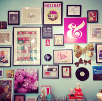Kate Spade gallery wall via @The Everygirl | Decor ...