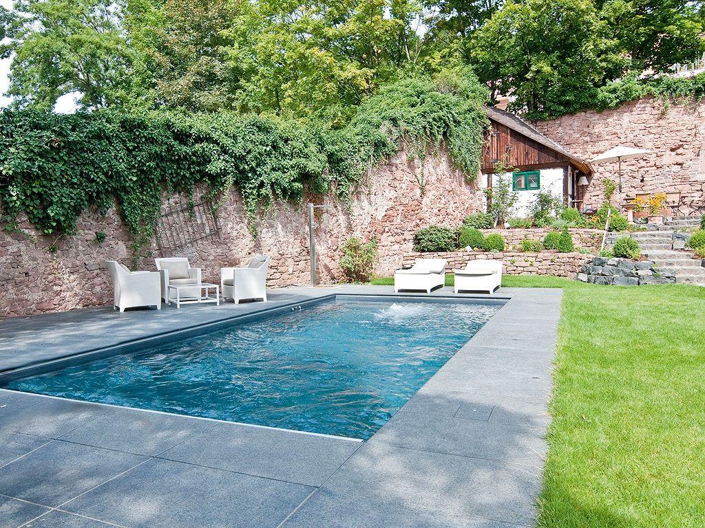 Mediterraner Pool Im Garten – Amb Mediterran – galaxyquestfo