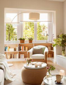 salones pequenos con ideas geniales elmueble home stylehouse designideas also rh pinterest