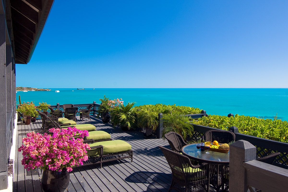 Best Kitchen Gallery: Villa Seacliff Turks And Caicos Luxury Retreats Porch Terrace of Luxury Caribbean Villa Rentals  on rachelxblog.com