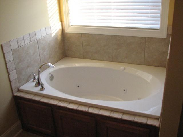 Image Detail For Garden Tub With Tile Surround And Tumbled