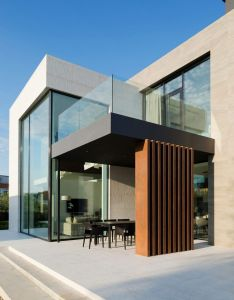 Alexandra fedorova designs an elegant contemporary house in pestovo russia also rh pinterest