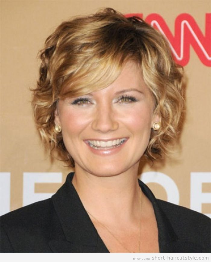 New Best Short Curly Haircuts For Round Faces 5 HD Wallpaper