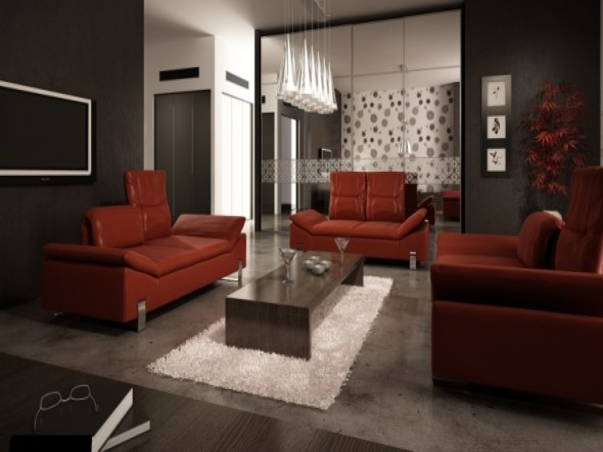 red leather sofa living room ideas artemis 5 pc microfiber sectional google search joel