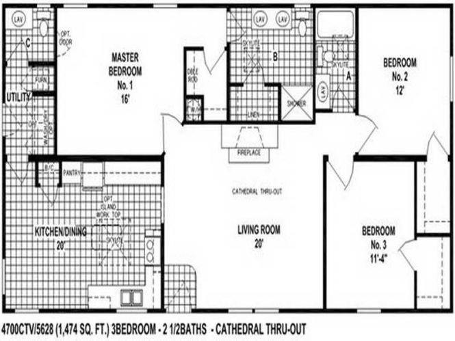 Double Wide Mobile Home Floor Plans 10 Great Manufactured Home Floor ...