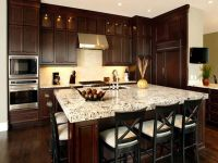 Pictures of Kitchens with Dark Cabinets Colors | Kitchen ...