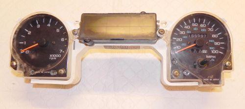 small resolution of yj gauge cluster wiring yj image wiring diagram jeep wrangler yj speedometer tachometer gauge instrument cluster
