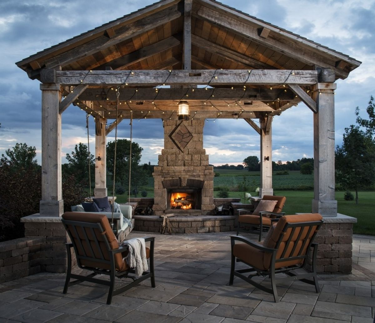 Covered Gazebos For Patios