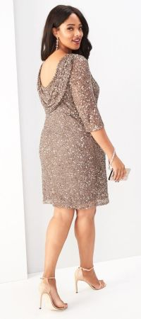 36 Plus Size Wedding Guest Dresses {with Sleeves | Wedding ...