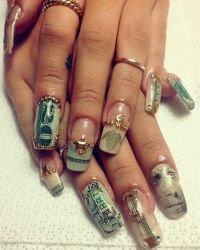 Money nails I need theseeee   Cute Nails   Pinterest ...