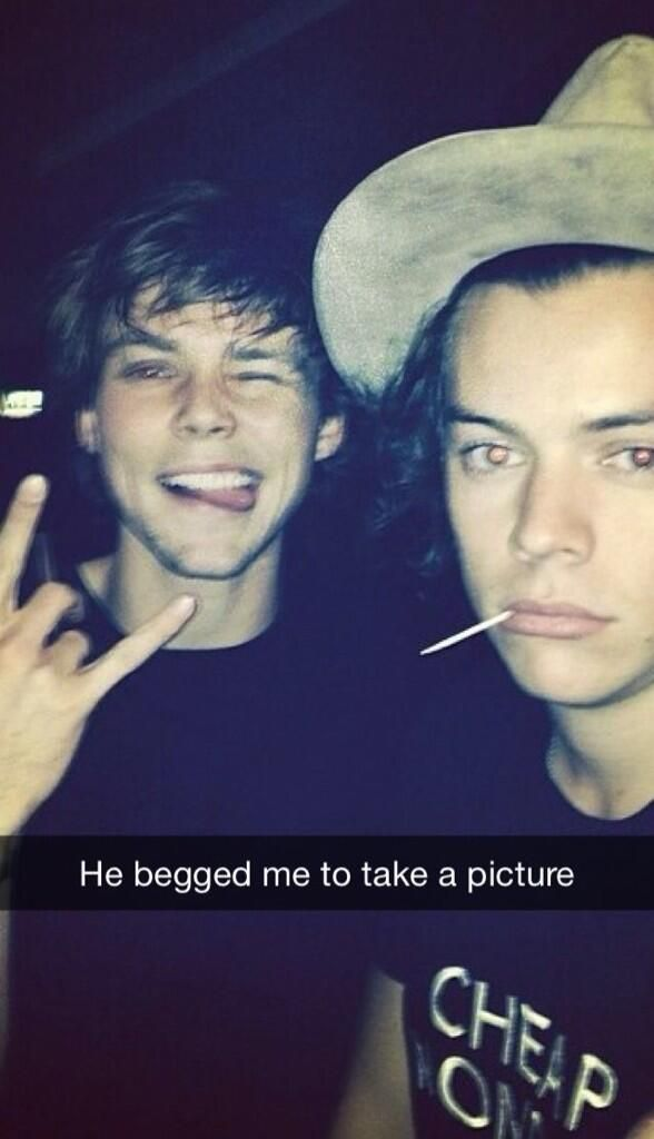 Harry Styles Real Snapchat Name