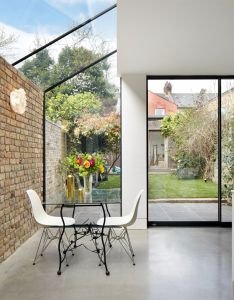 Rise design studio adds glass extension to london house also the best images about brick on pinterest studios architecture rh za
