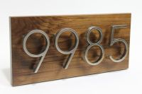 House Numbers, Contemporary,House Number Sign, Modern ...