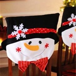 Christmas Chair Covers Pinterest Glass Table And Chairs Set 2015 Cotton Cover Snowman Home Decor Loveitsomuch
