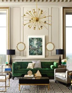 Top interior design ideas living room green home lovely there are no other words to describe it also rh pinterest