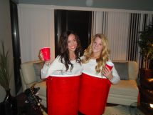 Red Solo Cup Halloween Costume Idea