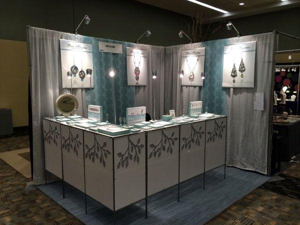 Vickie Hallmark Jewelry Design Show Booths