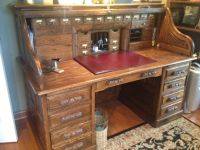 Roll top desk in tegrookie1944's Garage Sale in Peoria