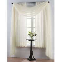 Smart Sheer Insulating Voile Window Curtain Panel | House ...