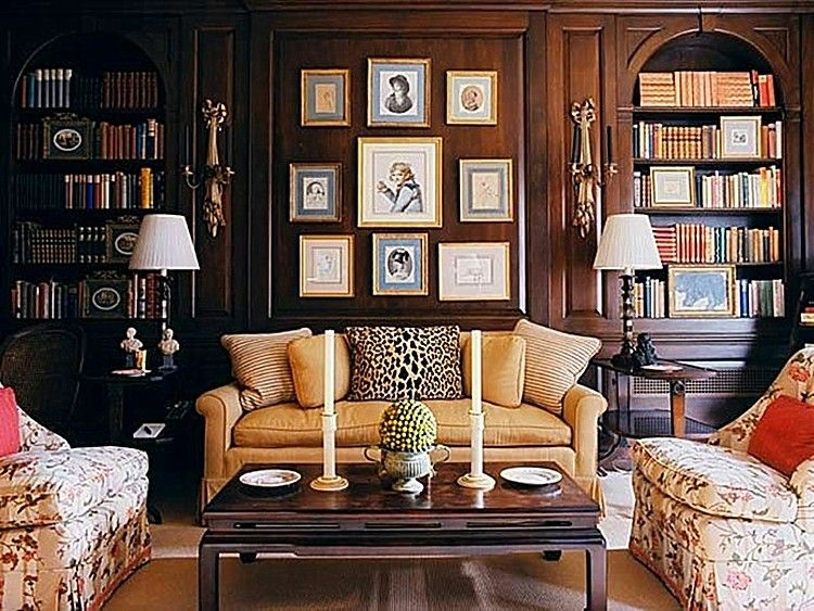 traditional home + eclectic