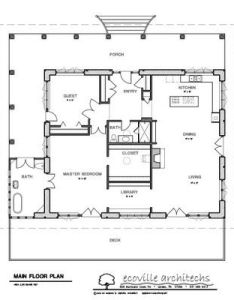Nice floor plan for  small house two bedroom plans land spacious porch large bathroom deck also straw bale on free  design rh pinterest
