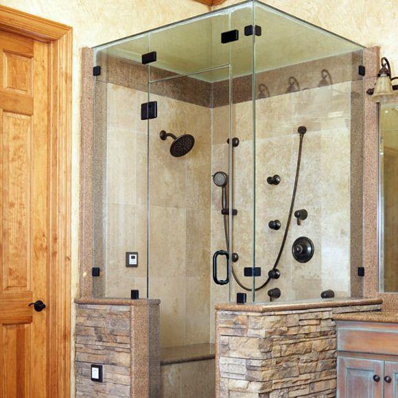 Tile Shower Stall Design Ideas Outside The Shower Home Is Where