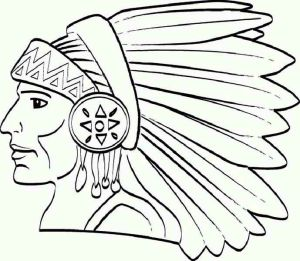 coloring pages native american sheets americans