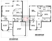 2-story-house-plans-9 | hair | Pinterest | House, Attic ...