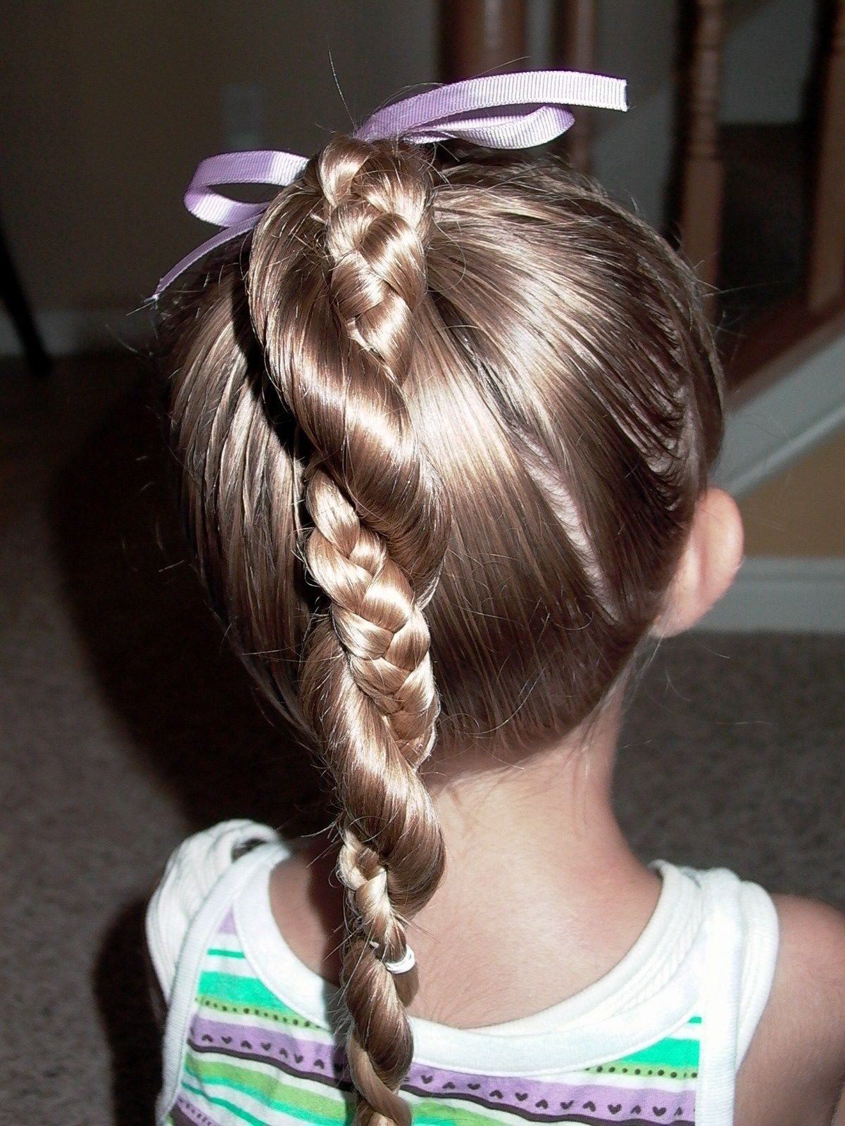 Easy Hairstyles For Little Girls With Long Hair Photo 4 Girl