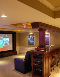 Find this pin and more on home theaters basement idea theater room also best images about pinterest rh