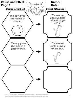 FREE Here is a fantastic cause and effect worksheet from