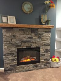 So much fun!! DIY airstone electric fireplace, ambroise ...