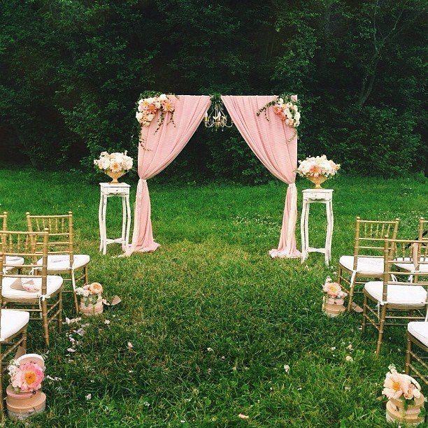 Vintage Wedding Ceremony Decor Wedding Ceremony Decorations