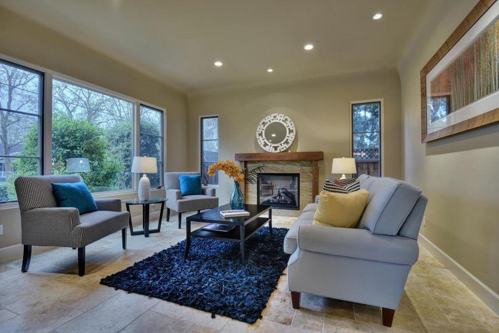Contemporary Living Room  decorating  Pinterest