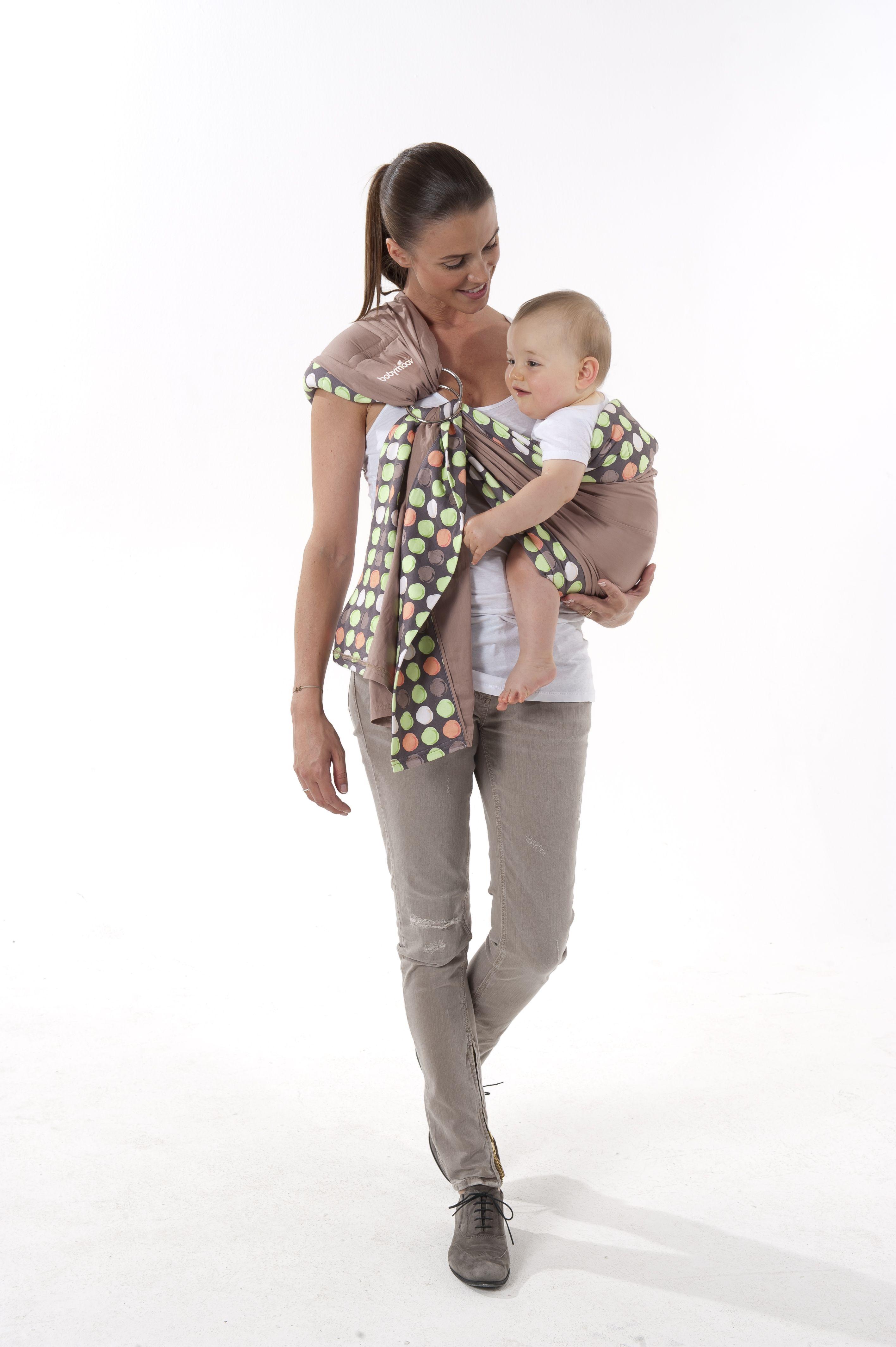 porte bebe echarpe anneau babymoov position position sur la hanche