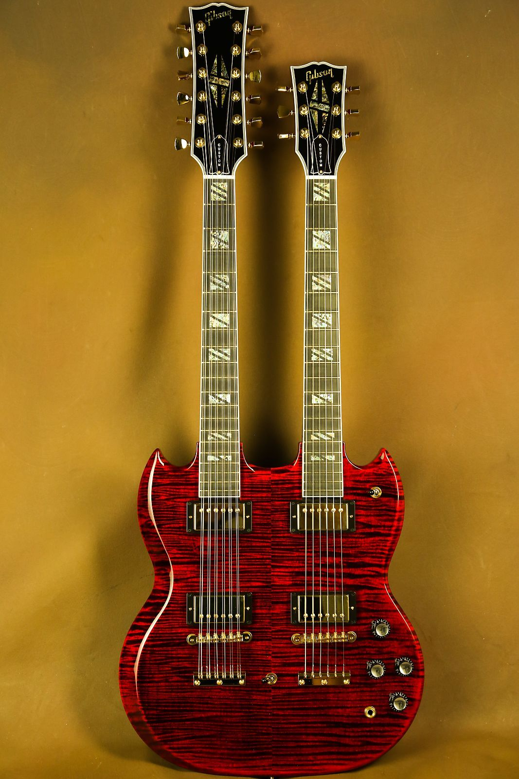 gibson eds 1275 wiring diagram honeywell rth9580wf youtube here is one of the coolest guitars ever
