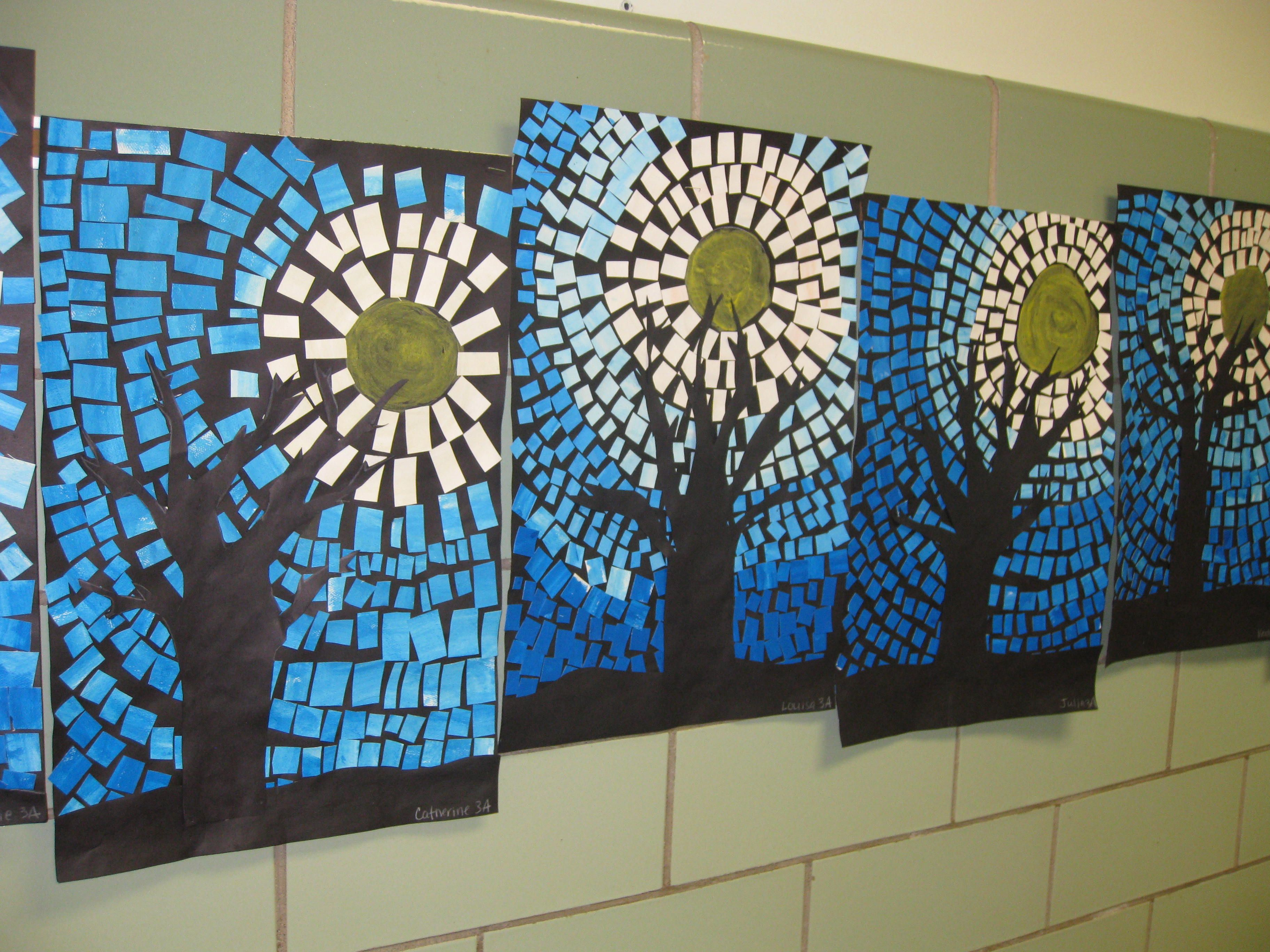 Winter Art Projects For 5th Graders