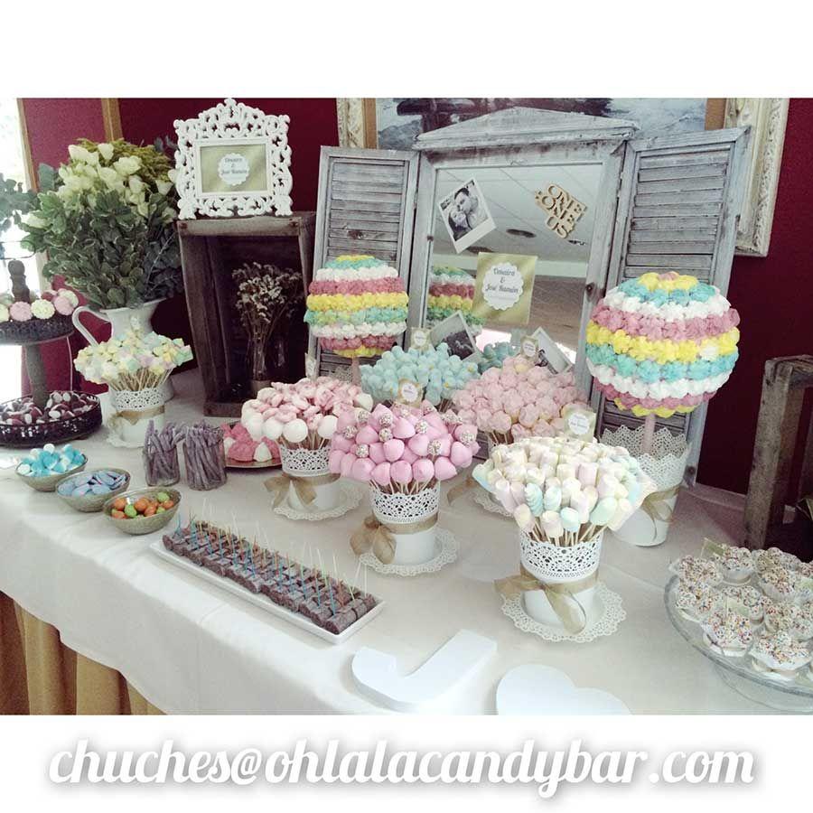 Ohlala Candy Bar  Mesas Golosinas Chuches  Buffet