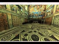 Virtual Tour of the Sistine Chapel --so cool! http://www ...